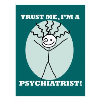 Trust Me I'm A Psychiatrist Post Cards