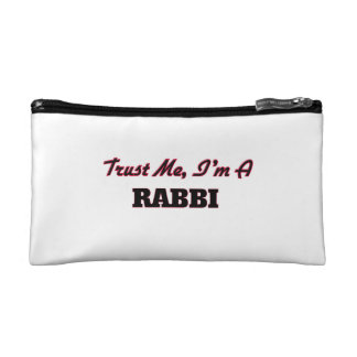 Trust me I'm a Rabbi Cosmetics Bags