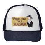 Trust Me - I'M A RABBI - Great Jewish humor Trucker Hat