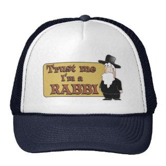 Trust Me - I'M A RABBI - Great Jewish humor Hats