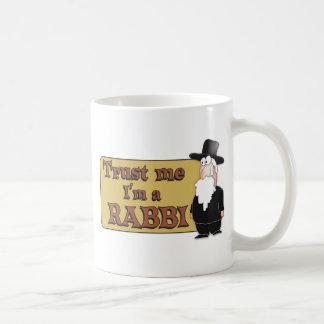 Trust Me - I'M A RABBI - Great Jewish humor Mugs