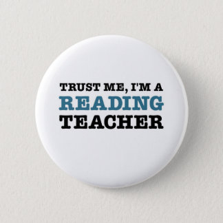 Trust Me, I'm A Reading Teacher Button
