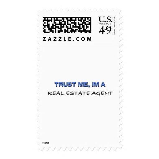 Trust Me I'm a Real Estate Agent Stamp