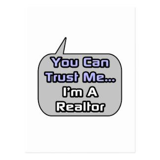 Trust Me .. I'm a Realtor Postcard