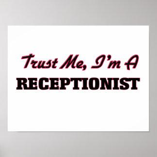 Trust me I'm a Receptionist Poster