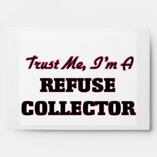 Trust me I'm a Refuse Collector Envelopes