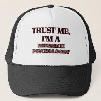 Trust Me I'm A RESEARCH PSYCHOLOGIST Trucker Hat