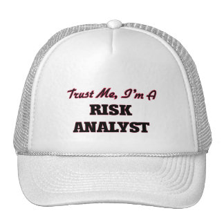Trust me I'm a Risk Analyst Hats
