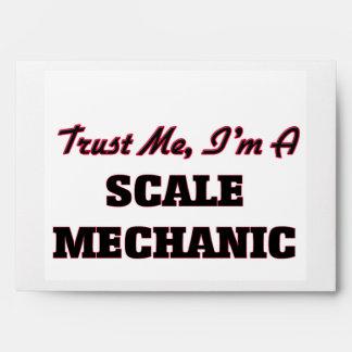Trust me I'm a Scale Mechanic Envelopes