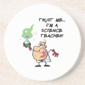 Trust Me... I'm a Science Teacher Drink Coaster
