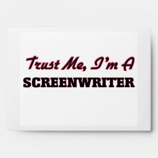 Trust me I'm a Screenwriter Envelope