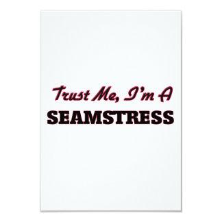 Trust me I'm a Seamstress 3.5x5 Paper Invitation Card