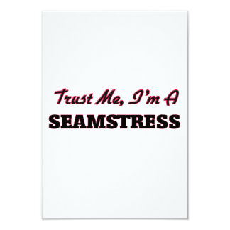Trust me I'm a Seamstress Custom Announcement