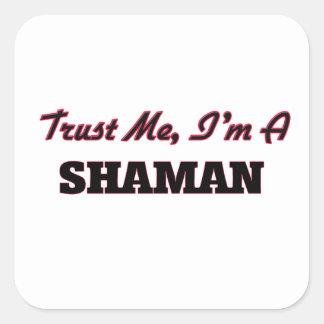 Trust me I'm a Shaman Stickers