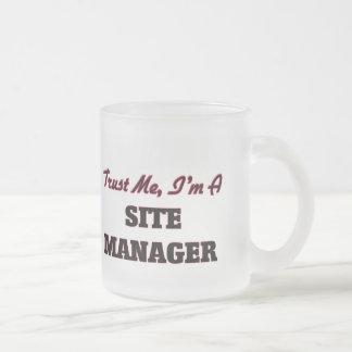 Trust me I'm a Site Manager Mug