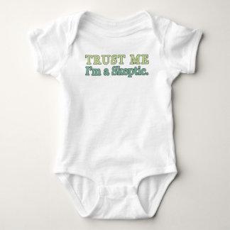 Trust Me, I'm a Skeptic. Baby Bodysuit