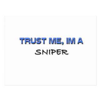 Trust Me I'm a Sniper Postcard
