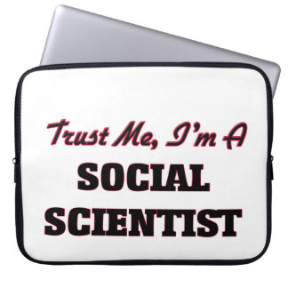 Trust me I'm a Social Scientist Computer Sleeves
