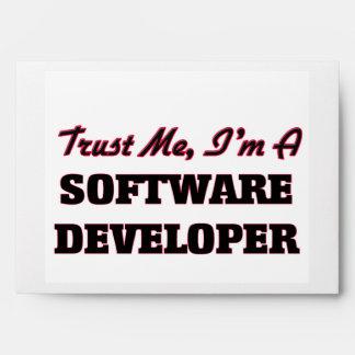 Trust me I'm a Software Developer Envelopes