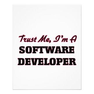 Trust me I'm a Software Developer Flyers