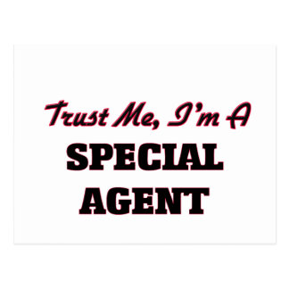 Trust me I'm a Special Agent Post Card