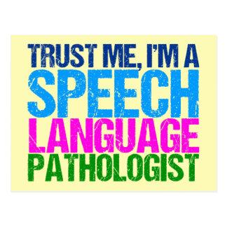 Trust Me, I'm a Speech Language Pathologist Postcard