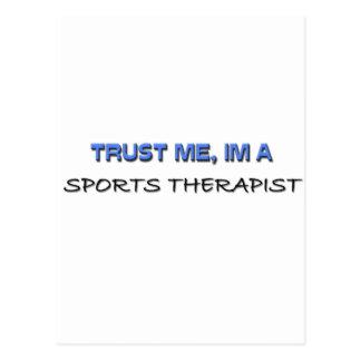 Trust Me I'm a Sports Therapist Postcard