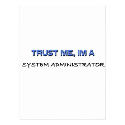 Trust Me I'm a System Administrator Postcards