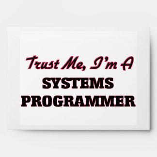 Trust me I'm a Systems Programmer Envelope