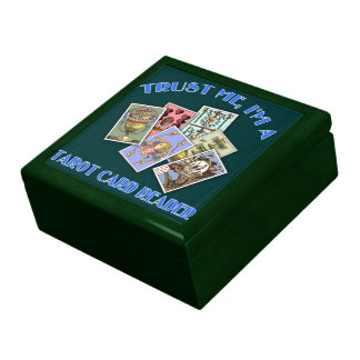 Trust Me I'm a Tarot Card Reader Gift Boxes