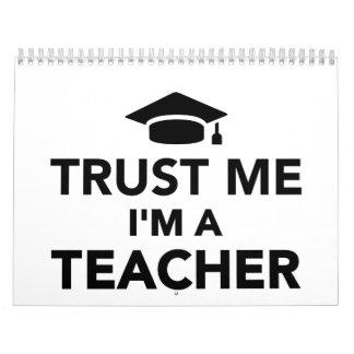 Trust me I'm a Teacher Calendar