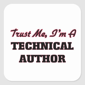 Trust me I'm a Technical Author Stickers