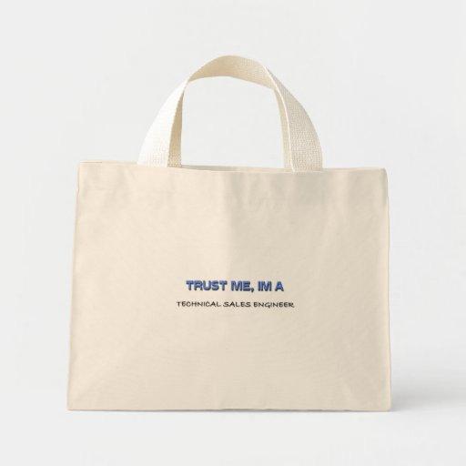 Trust Me I'm a Technical Sales Engineer Mini Tote Bag