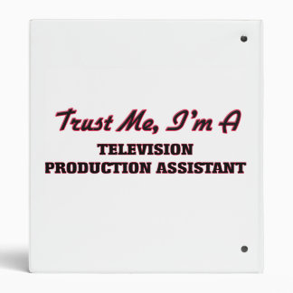 Trust me I'm a Television Production Assistant Binder