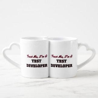 Trust me I'm a Test Developer Couples' Coffee Mug Set