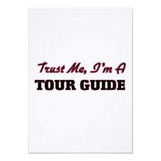 Trust me I'm a Tour Guide Cards