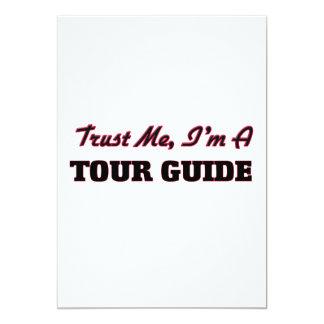 Trust me I'm a Tour Guide Card
