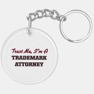 Trust me I'm a Trademark Attorney Keychains