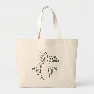 TRUST ME, I'M A VIRGIN BAGS