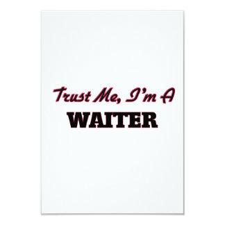 Trust me I'm a Waiter Invitations