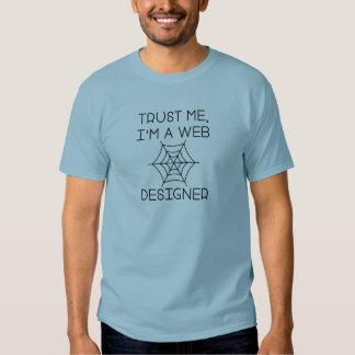 Trust Me I'm A Web Designer T-Shirt