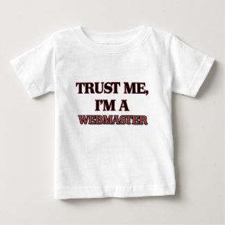 Trust Me I'm A WEBMASTER T Shirt