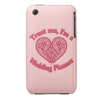 Trust Me, I'm a Wedding Planner Gifts iPhone 3 Cover