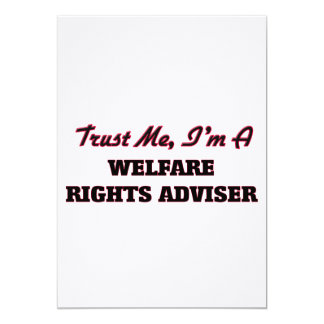 Trust me I'm a Welfare Rights Adviser Announcement