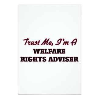 Trust me I'm a Welfare Rights Adviser Personalized Invitation