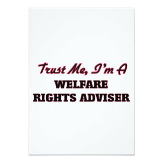 Trust me I'm a Welfare Rights Adviser Cards