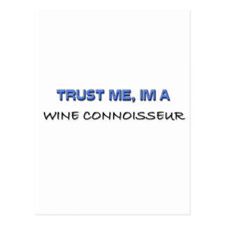 Trust Me I'm a Wine Connoisseur Postcards