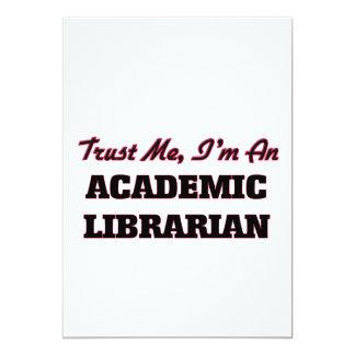 Trust me I'm an Academic Librarian Invitation