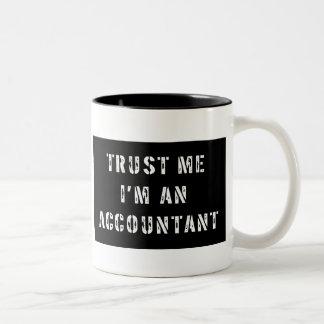 Trust Me I'm An Accountant Two-Tone Coffee Mug