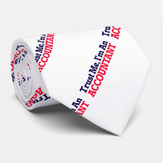 Trust me, I'm an Accountant Tie